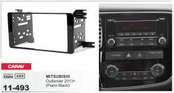 Фото Рамка переходная Carav 11-493 Mitsubishi Outlander 13+ Piano Black 2DIN