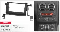 Фото Рамка переходная Carav 11-239 Nissan Rogue 07-13 2DIN