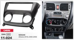 Фото Рамка переходная Carav 11-024 Nissan Almera 2000-2006