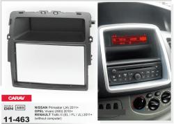 Фото Рамка переходная Carav 11-463 Nissan Primastar 2011+, Opel Vivaro 2010+, Renault Trafic II 2011+