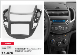 Фото Рамка переходная Carav 11-476 Chevrolet Trax, Tracker 2013+/Holden Trax 2013+ 2DIN