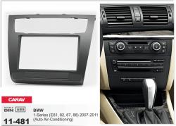 Фото Рамка переходная Carav 11-481 BMW 1-Series (E81, 82, 87, 88) 07-11 Auto Air-Conditioning