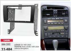 Фото Рамка переходная Carav 11-484 Lexus GS 97-05/Toyota Aristo (S160) 97-04 (without navigation) 2DIN