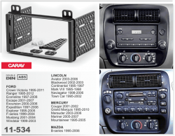 Фото Рамка переходная Carav 11-534 Ford/Lincoln/Mercury/Mazda 2DIN