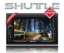 Фото Автомагнитола Shuttle SDUD-6960 Black/Multicolor