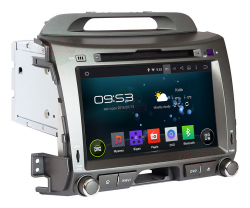 Фото Автомагнитола штатная Incar AHR-1881 Kia Sportage R 2010+ graphite (Android 4.4.4)