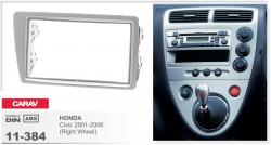 Фото Рамка переходная Carav 11-384 Honda Civic 01-06 (Right Wheel) 2DIN