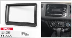 Фото Рамка переходная Carav 11-565 Honda HR-V 2014+ 2DIN
