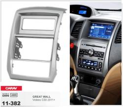 Фото Рамка переходная Carav 11-382 Great Wall Voleex C50 2011+ 2DIN