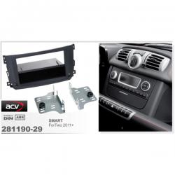 Фото Рамка переходная ACV 281190-29 Smart For Two (BR451 Facelift) 09/2010-12/2015