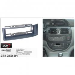 Фото Рамка переходная ACV 281250-01 Renault Megan/Scenic dark grey