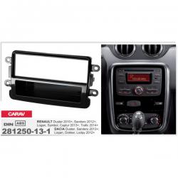 Фото Рамка переходная ACV 281250-13-2 Dacia Duster Faclift 10/2013-/Dokker, Lodgy 06/2012-> black