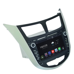 Фото Автомагнитола штатная Incar AHR-2487 Hyundai Accent 2011+ (Android 4.4.4)