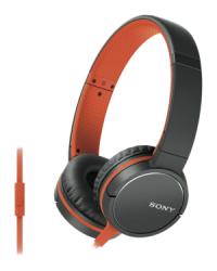 Фото Наушники Sony MDR-ZX660AP Orange (MDRZX660APD.E)