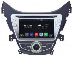 Фото Автомагнитола штатная Incar AHR-2464 Hyundai Elantra 2014-2015 8