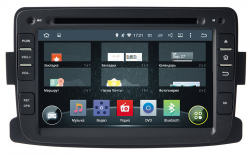 Фото Автомагнитола штатная Incar AHR-1484 Renault Duster, Sandero (Android 4.4.4)