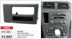 Фото Рамка переходная Carav 11-557 VOLVO S60 2000-2004; V70, XC70 2001-2004 with pocket