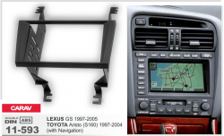 Фото Рамка переходная Carav 11-593 LEXUS GS 1997-2005 / TOYOTA Aristo (S160) 1997-2004  with Navigation