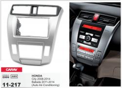 Фото Рамка переходная Carav 11-217 HONDA City 08-14, Ballade 11-14 (Auto Air-Conditioning) 2DIN