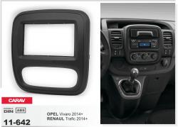 Фото Рамка переходная Carav 11-642 Opel Vivaro 2014+/Renault Trafic 2014+