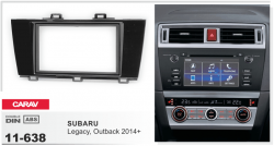Фото Рамка переходная Carav 11-638 Subaru Legacy /Outback 2014+