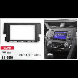 Фото Рамка переходная Carav 11-650 HONDA Civic 2016+