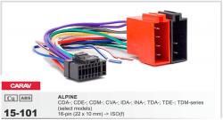 Фото Переходник Carav 15-101 Alpine 16-pin (22x10mm)