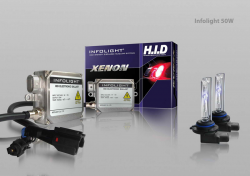 Фото Комплект ксенона Infolight 50W (4300/5000/6000K)