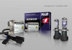 Фото Комплект биксенона Infolight / Infolight Pro H4 50W (4300/5000/6000K)