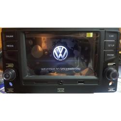 Фото Автомагнитола штатная RCD330 MQB VW/Skoda Plus CAN Mirror Link