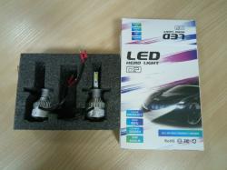 Фото Светодиодная лампа RCJ H1 Q2-COB 4000Lm 6000K (пара)