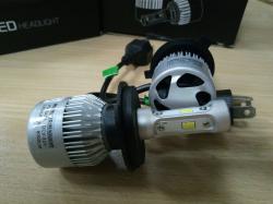 Фото Светодиодная лампа RCJ H4 S2-CSP 4000Lm 6500K (пара)