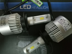 Фото Светодиодная лампа RCJ H7 S2-CSP 4000Lm 6500K (пара) (Korea)