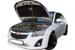 Фото Газовый упор капота Chevrolet Cruze (2008+) (1 шт)