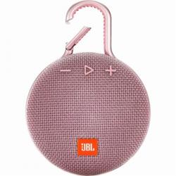 Фото Портативная колонка JBL Clip 3 Pink (JBLCLIP3PINK)