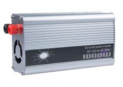 Фото Инвертор (12V-220V) 1000W+USB (Doxin/TBE)