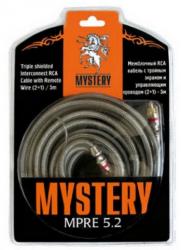 Фото Кабель RCA межблочный Mystery MPRE 5.2 (5m)