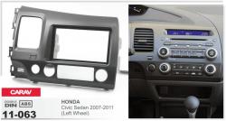 Фото Рамка переходная Carav 11-063 Honda Civic 2007-> 2DIN