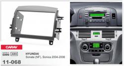 Фото Рамка переходная Carav 11-068 Hyundai Santa NF,Sonata,Sonica 2 DIN