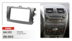 Фото Рамка переходная Carav 08-003 Toyota Corolla 2007+ 2DIN