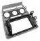 Фото Рамка переходная Carav 11-185 Skoda Octavia 08-13 (Manual Auto Air-Conditioning) Grey 2DIN